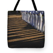 Sailors Stand At Parade Rest Tote Bag