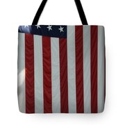Sailors Stand In Front Of The American Tote Bag