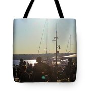 Sails And Sunsets Tote Bag