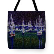 Sails At Sunrise Tote Bag