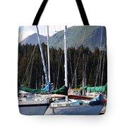 Sails Of Seldovia Tote Bag