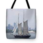 Sails On The Harbor Tote Bag