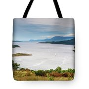 Sails On The Kyles Of Bute Tote Bag