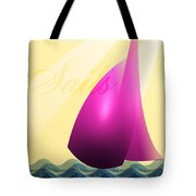 Sails Tote Bag by Trevor Wintle