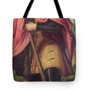Saint Alexander A Panel From The Altarpiece The Nativity With Saints Tote Bag