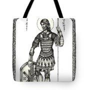 Saint Artemius Tote Bag
