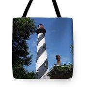 Saint Augustine Lighhouse Tote Bag