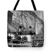 Saint Bartoloma On Konigssee Lake Tote Bag
