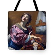 Saint Cecilia Tote Bag