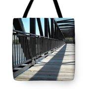 Saint Charles Walking Bridge Tote Bag
