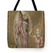 Saint Dorothy And The Infant Christ Tote Bag