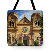 Saint Francis Cathedral Tote Bag