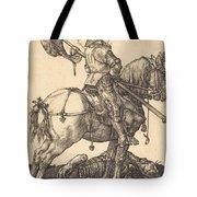 Saint George On Horseback Tote Bag