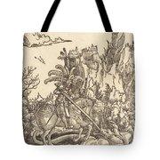 Saint George Slaying The Dragon Tote Bag