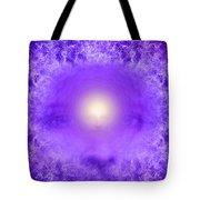 Saint Germain And The Violet Flame Tote Bag
