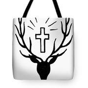 Saint Huberts Stag Tote Bag