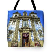 Saint Ildefonso Church Tote Bag