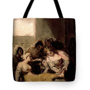Saint Isabel Of Portugal Healing The Wounds Of A Sick Woman Tote Bag