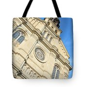 Saint Jean Baptiste Church In Quebec City Tote Bag