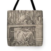 Saint Jerome In His Study Tote Bag