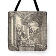 Saint Jerome Writing Tote Bag