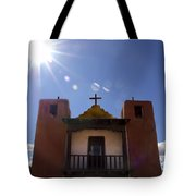 Saint Jeromes Chapel Taos Pueblo Tote Bag