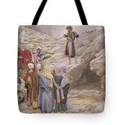 Saint John The Baptist And The Pharisees Tote Bag