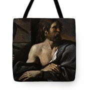 Saint John The Baptist In Prison Visited By Salome Tote Bag