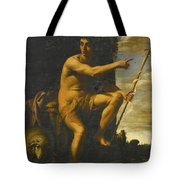 Saint John The Baptist In The Wilderness Tote Bag