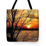 Saint Johns River Sunset  Tote Bag