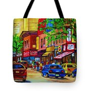 Saint Lawrence Street  Tote Bag