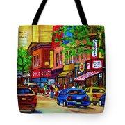 Saint Lawrence Street  Tote Bag