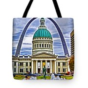 Saint Louis Icons Tote Bag