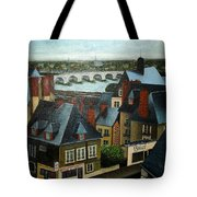 Saint Lubin Bar In Lyon France Tote Bag
