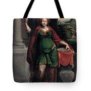 Saint Lucy Tote Bag
