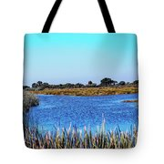 Saint Marks National Wildlife Refuge Lagoon Tote Bag