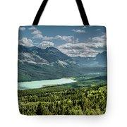 Saint Mary Lake Panorama Tote Bag