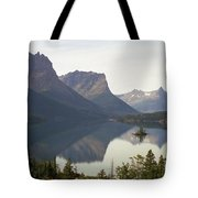 Saint Marys Lake Tote Bag