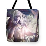 Saint Michael Doll Tote Bag