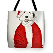 Saint Nick Tote Bag