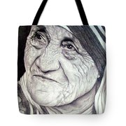 Mother Teresa Saint Of Calcutta  Tote Bag