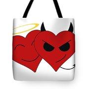 Saint Or Evil Tote Bag