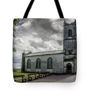 Saint Patricks Church On The Hill Of Tara Tote Bag