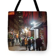 Saint Patrick's Day On Marshall Street Boston Ma Tote Bag