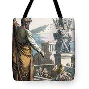 Saint Paul At Athens Tote Bag