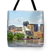 Saint Paul From The Mississippi Tote Bag