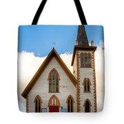 Saint Paul's Episcopal Church Verginia City Nevada Tote Bag