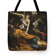 Saint Peter Incarcerated Tote Bag