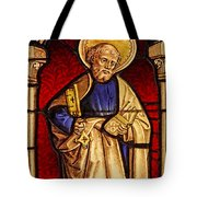 Saint Peter  Stained Glass Tote Bag