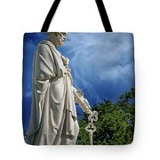 Saint Peter With Keys To Heaven Tote Bag